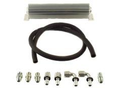 HK2099 - Heat Sink Fluid Cooler Kit with Upgraded #8 Return Line Hose Kit, 2007-11 Jeep JK 3.8L