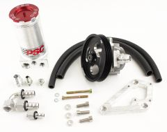 PK1857X - Power Steering Pump and Remote Reservoir Kit for Jeep with LS1/LS2 Engine Conversion and Full Hydraulic Steering