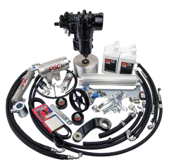 SK502-60 - BIG BORE XD-JL Cylinder Assist Steering Kit for 2020 and Newer Jeep JL 2.0L non-eTorque with Aftermarket Axle
