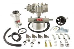SK241 - Cylinder Assist Steering Kit, 1995-2002 Jeep YJ/XJ/TJ with D60 Axle for 33-42 Inch Tire Size