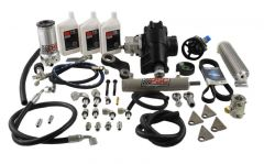 SK291 - BIG BORE XD Cylinder Assist Steering Kit for 2007-11 Jeep JK 3.8L with OEM Axle