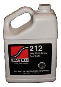SWEPCO 212 Moly 80W140 Gear Oil, 1 GAL