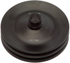 DOR300-121 - 6.0 Inch Dual Groove Power Steering Pump Pulley (V-Belt)