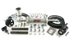 "FHK100TJ - Full Hydraulic Steering Kit, 1997-2006 Jeep YJ/XJ/LJ/TJ with 35""-40"" Inch Tire Size"