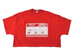 """PSC """"Hello My Name Is"""" T Shirt"""