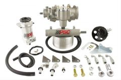 SK240 - Cylinder Assist Steering Kit, 1995-2002 Jeep YJ/XJ/TJ with 33-42 Inch Tire Size
