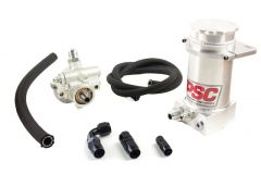Pro Touring Power Steering Pump and Remote Reservoir Kits (Rack and Pinion Applications)