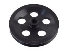 "PP2424 - 6.0"" Power Steering Pump Pulley (V-Belt)"