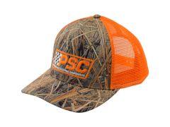 PSC Orange Camo Trucker Hat
