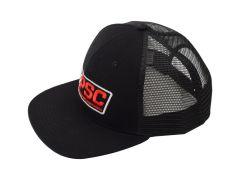 LIMITED EDITION PSC Black Flat Bill Trucker Hat