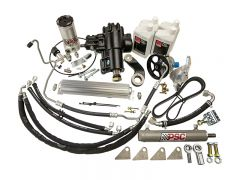 SK282 - BIG BORE XD Cylinder Assist Steering Kit for 2012-18 Jeep JK 3.6L with Aftermarket D60 (1 Ton) Axle