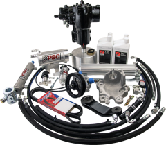 SK551-60 - BIG BORE XD-JT Cylinder Assist Steering Kit for 2020 and Newer Jeep JT Gladiator 3.6L with AFTERMARKET AXLE