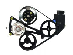 RK500B-13CP1 - Power Steering Kit - Includes Brackets, Pump, Pulleys, and Mounting Hardware