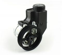 "RP13CP1 - Circle Track Power Steering Pump - Reservoir and 4.5"" Serpentine Pulley Included"