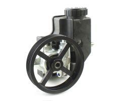 Pro Series Aluminum Race Pump w/ Integral Reservoir 5.5 Serp Pulley