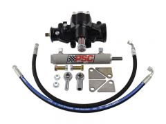 SK248 - Budget Cylinder Assist Steering Kit for 1988-2002 Jeep TJ/XJ with Aftermarket D60 Axle