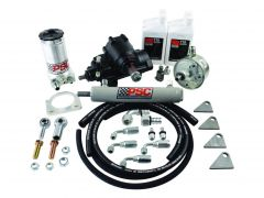 SK336 - Cylinder Assist Steering Kit, 1988-1999.5 GM 4WD with Straight Axle Conversion