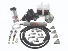 SK337 - Cylinder Assist Steering Kit, 1999.5-2006.5 GM 4WD with Straight Axle Conversion